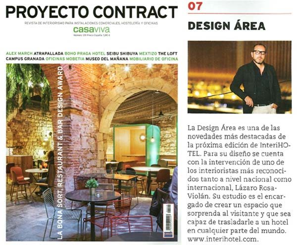"Proyecto Contract: ""Design Area"""
